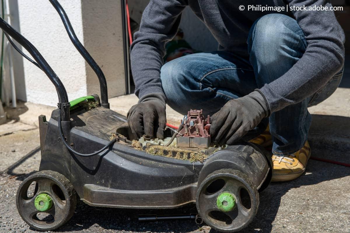 entretenir moteur tondeuse électrique