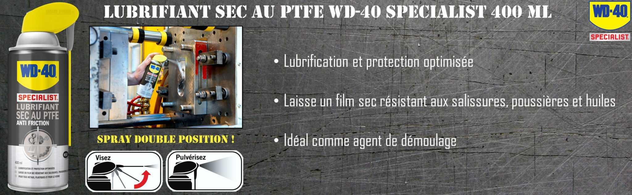 Entretenez votre matériel comme des pros avec la gamme WD-40 Specialist !