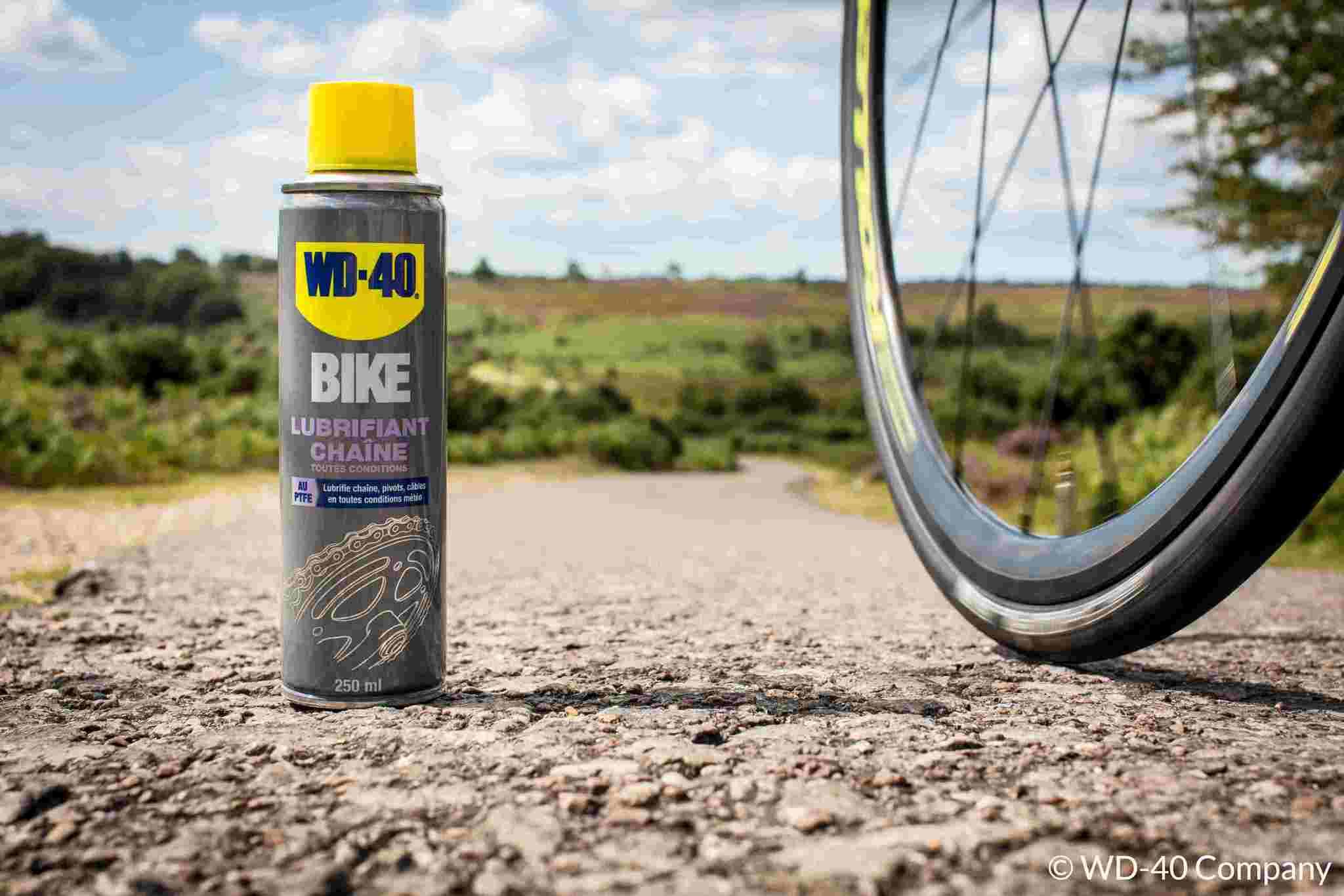 Graisse et lubrifiant chaîne pour vélo : connaissez-vous WD-40 BIKE ?