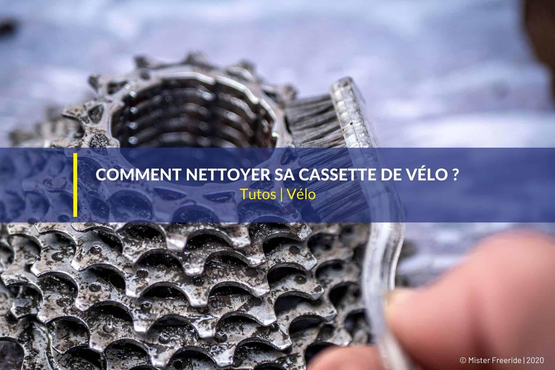 nettoyer cassette vélo