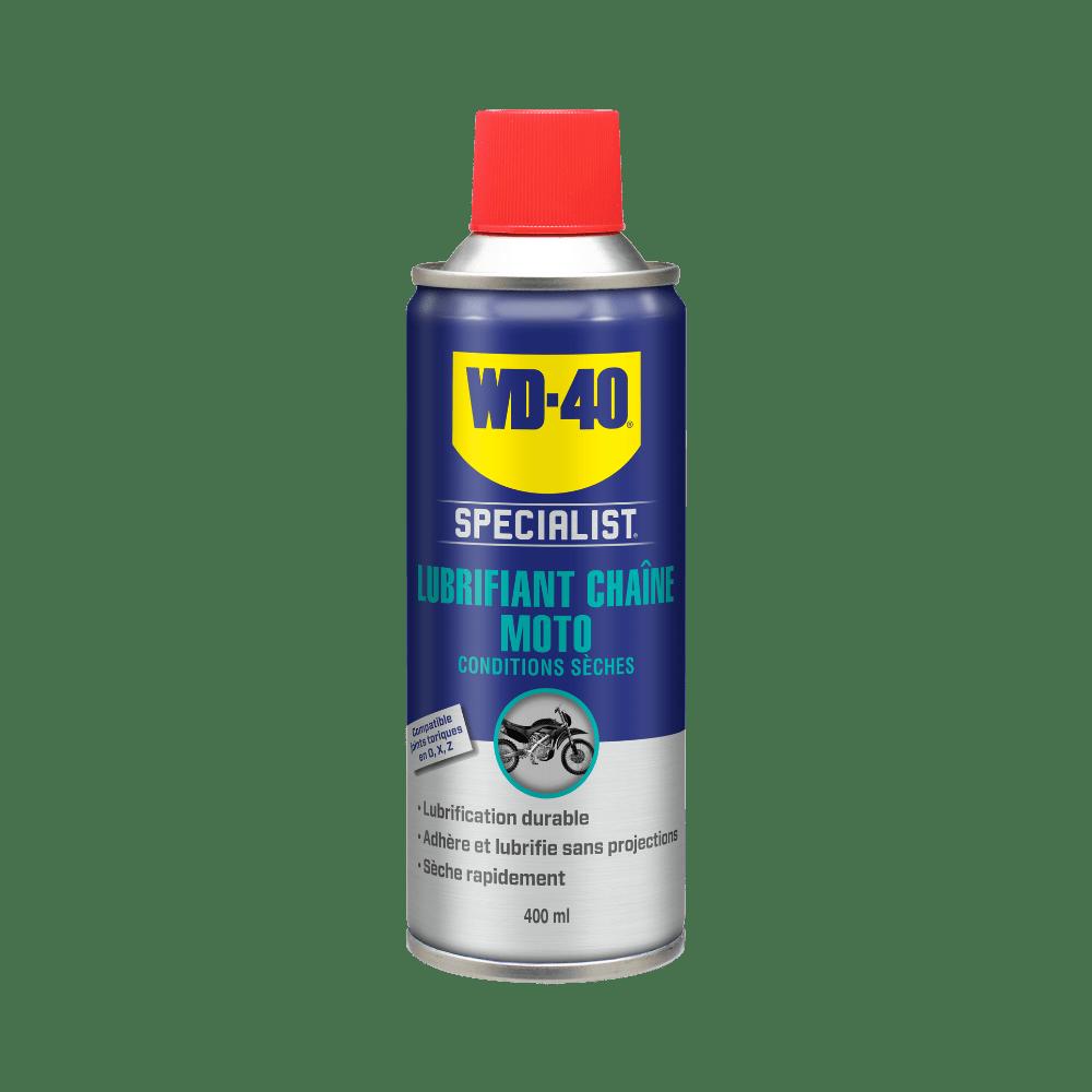 lubrifiant chaîne wd 40 specialist moto 400 ml 1000x1000 détouré